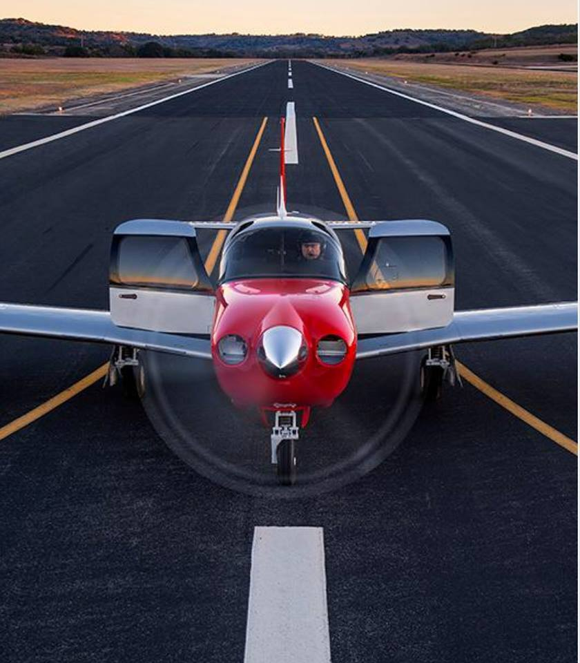 Image result for mooney M20 two doors