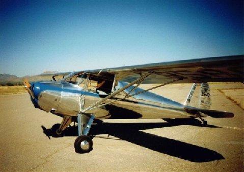 Aircraft - Luscombe 8 Write Up (L8)