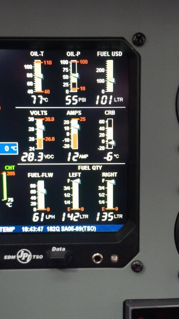 Maintenance & Avionics - Problems with EDM930 fuel quantity