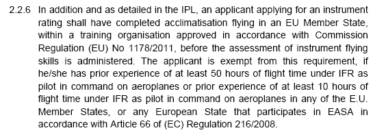 Learning starting out easa faa bilateral pilot licensing an faa ir only holder wont be able to do those 10 hours after april 2016 platinumwayz