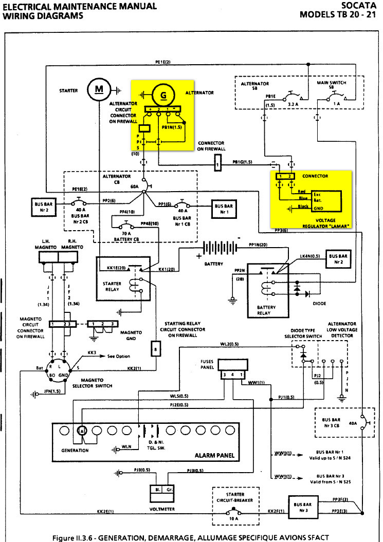 92107 19624 maintenance & avionics sr22 g2 ( 2206) alt 1 failure cirrus sr22 wiring diagram at mifinder.co