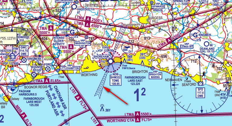 Flying Interaction With ATC In Class G Airspace - Class g airspace map
