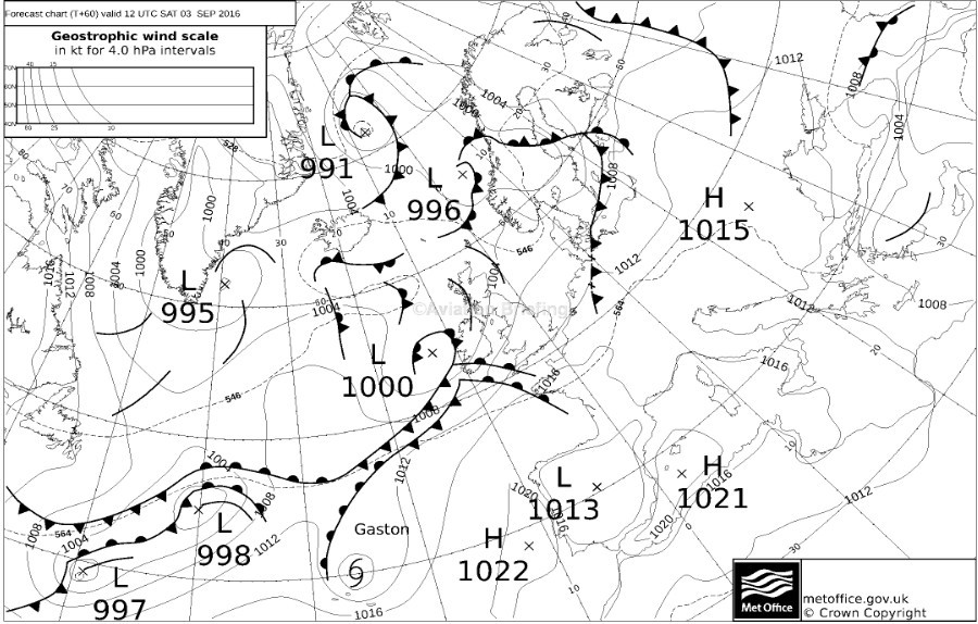 Flying Weather Map.Flying Flying Weather Nw Europe This Weekend