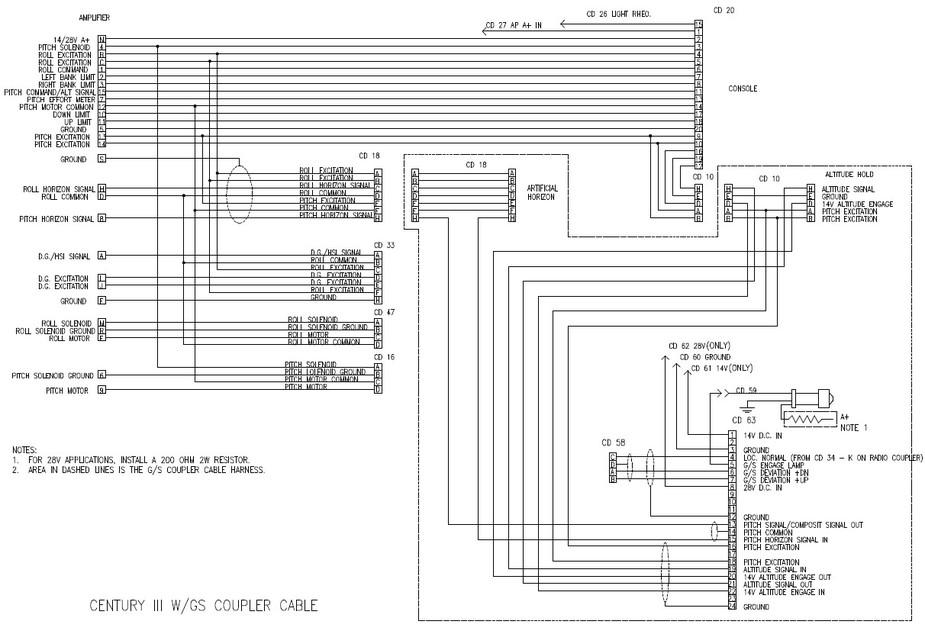149865 78320 maintenance & avionics legacy autopilot (century 3c altimatic v century iv autopilot wiring diagram at gsmx.co
